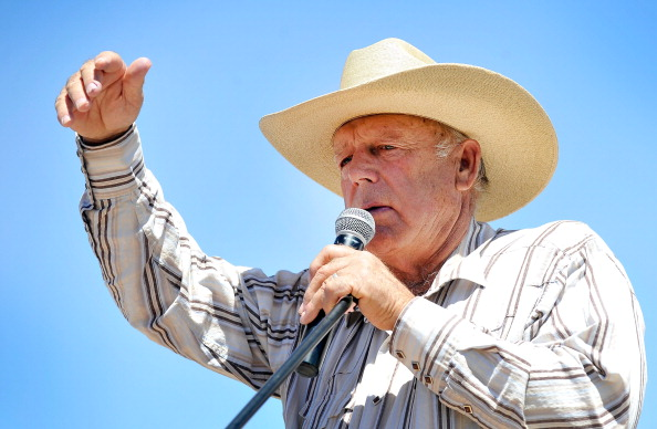 The Bureau of Land Management and Bundy have been locked in a dispute for a couple of decades over grazing rights on public lands.  (Photo by David Becker/Getty Images)