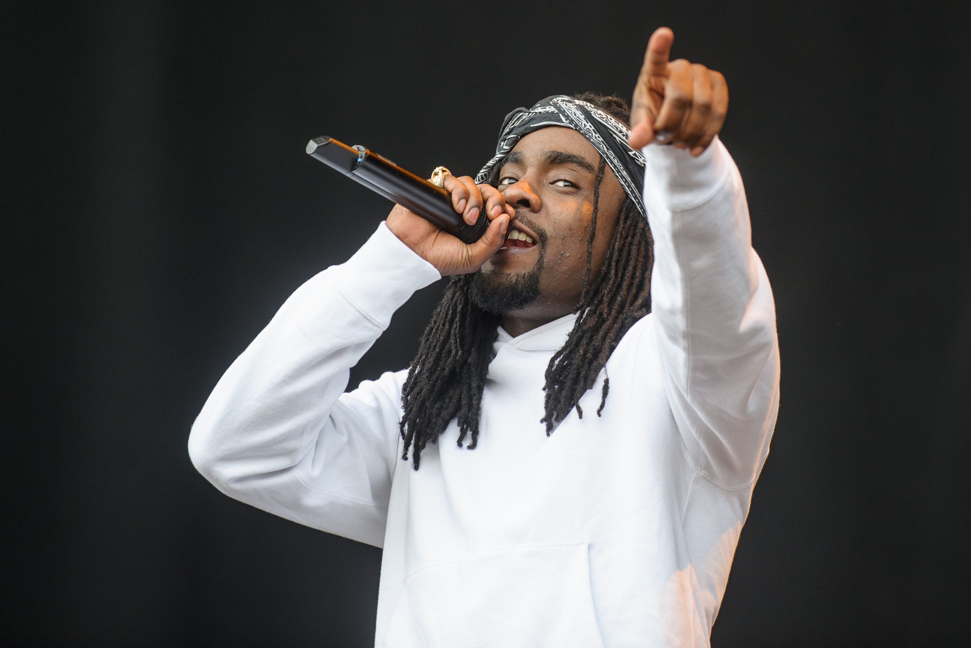 WASHINGTON, DC - September 26th, 2015 - Wale performs at the 2015 Landmark Festival in Washington, D.C.