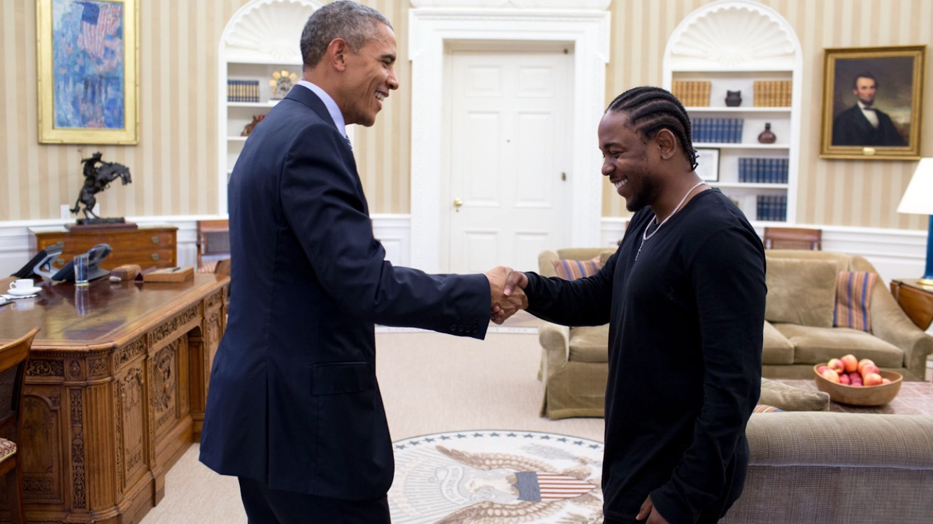 Kendrick Visits The White House And Here S What Happened