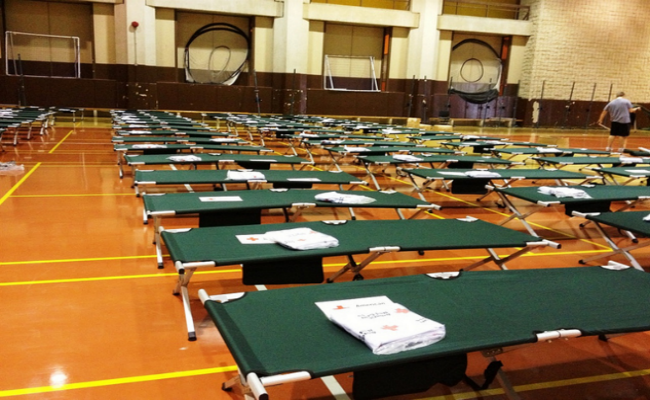 Cots Shelter