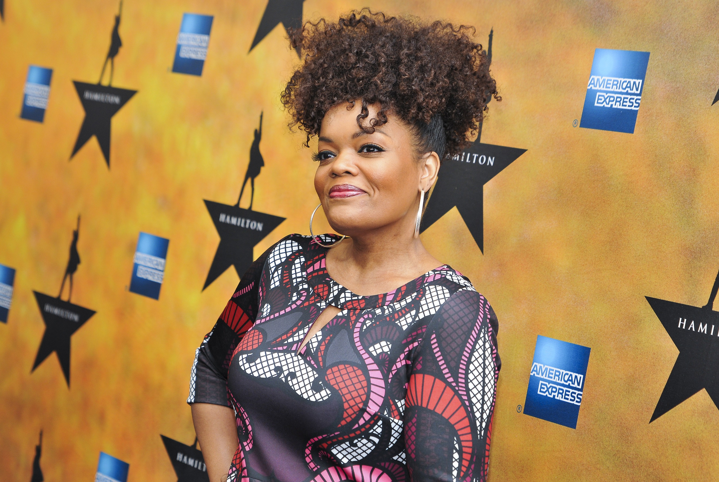 """NEW YORK, NY - AUGUST 06:  Yvette Nicole Brown attends """"Hamilton"""" Broadway Opening Night at Richard Rodgers Theatre on August 6, 2015 in New York City."""