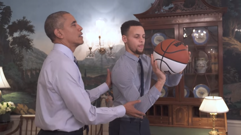 obama-steph-curry