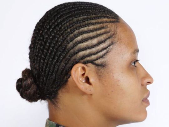Peachy Locs And Twisted Hairstyles Have Been Approved For Women In The Short Hairstyles Gunalazisus